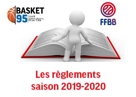 Les règlements - saison 2018 2019