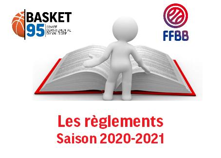 Les règlements  -  saison 2020 2021